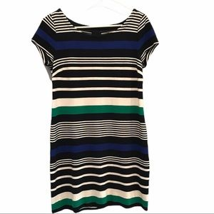 Banana Republic striped short sleeve dress size 6
